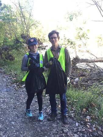 10.10.2016 Watershed Cleanup with Energetics at Orange Grove