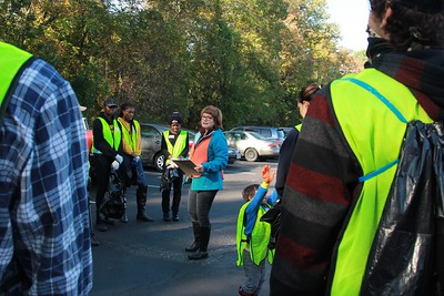 10.15.2016 Watershed Cleanup at Miller Branch with Howard County General Hospital  Staff