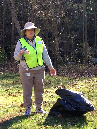 11.7.2016 Patapsco River Watershed Cleanup at the Cycle Mill