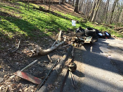 4.16.16 Sucker Branch Cleanup with Boy Scout Troop 495