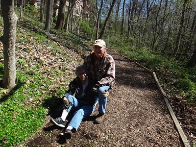 4.6.16 Herbert Run Stream Cleanup/Invasives Removal at Charlestown Retirement Community