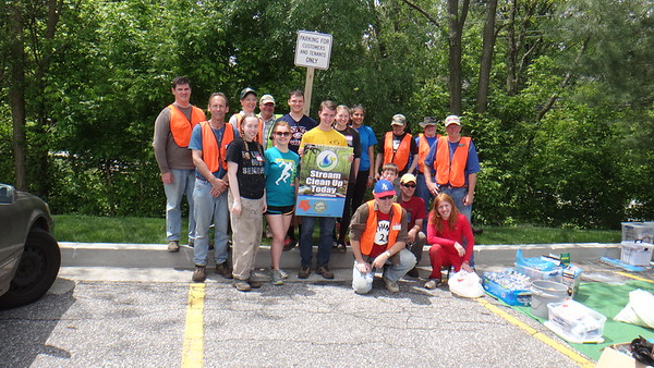 5.14.16 Sucker Branch Stream Cleanup (Normandy Shopping Center to Route 40) in Ellicott City