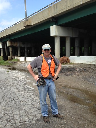 5.2.2016 N. Hammonds Ferry Rd. Watershed cleanup on Patapsco River