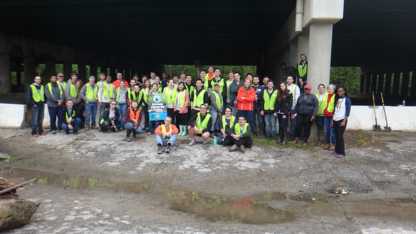 5.4.16 Patapsco River Cleanup off of N. Hammonds Ferry Road in a section of Patapsco  Valley State Park