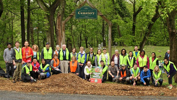 5.7.16 Historic Oella Cemetery Invasives Removal & WatershedCleanup