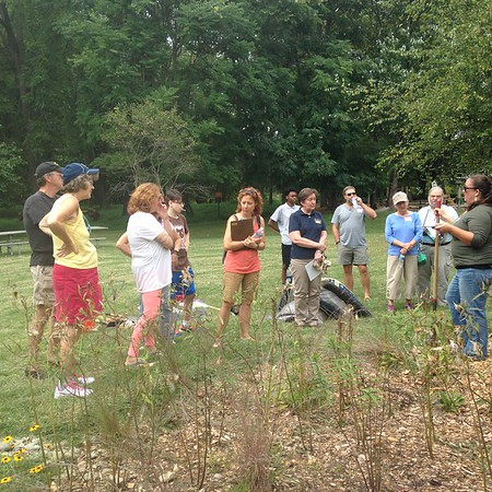 9.17.2016 Rain Garden Workshop at Benjamin Banneker Historical Park and Museum