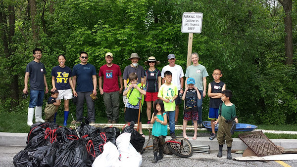 4.29.2017 Sucker Branch Stream Cleanup with Cub Scout Pack 495