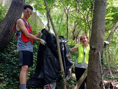 5.19.2017  Herbert Run Stream Cleanup at Edmondson Ave.