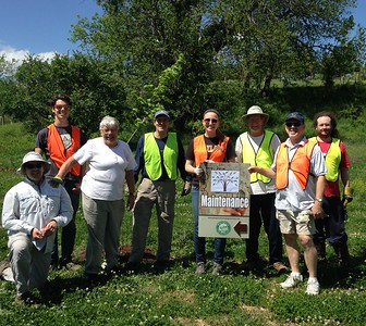 5.2.2017  Tree Maintenance in Bull Run Watershed at Foxhall Farm Rd