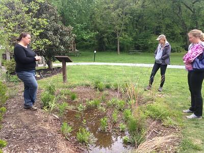 5.6.2017  Benjamin Banneker Rain Garden Workshop and Maintenance