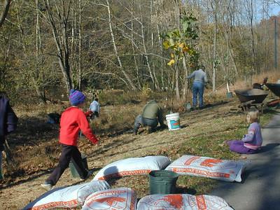 11.4.06 Patapsco State Park Tree Planting