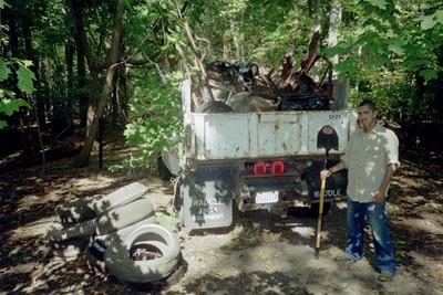 10.6.07 Miller Run-Rockhaven Rd. Cleanup