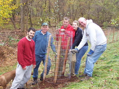 11.10.07 Tree Planting at Patapsco State Park