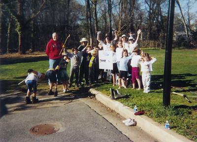 4.14.07 Project Clean Stream-Miller Run in Catonsville off Nuwood Rd., Sawmill Branch in Catonsville, Herbert Run