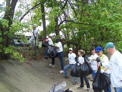 9.16.08 Herbert Run-Arbutus-Southwestern Blvd. Cleanup