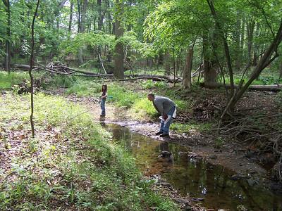 5.31.08 Cedar Run Cleanup in Catonsville
