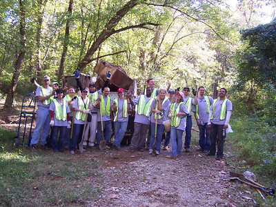 10.9.09 Stoney Run Cleanup in Linthicum