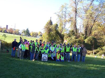 11.6.10 Tree Planting-Tree Maintenance-Stream Cleanup Along Herbert Run