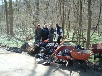 3.27.10 Vineyard Springs Stream Cleanup