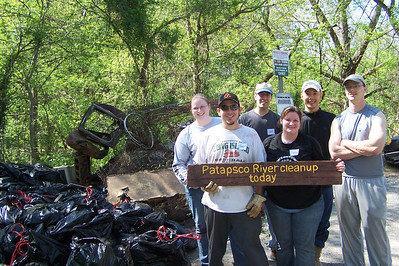 4.11.10 New Cut Rd. Stream Cleanup--Part 2 of 2