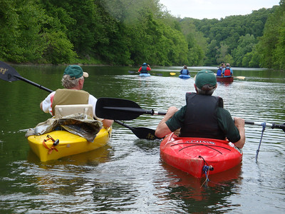5.16.10 Guided Kayak Ride near the Daniels Area of Patapsco River