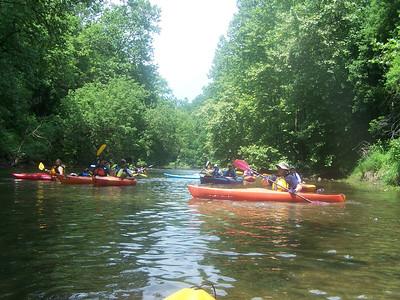 6.20.10 Kayak Ride Along the Patapsco River