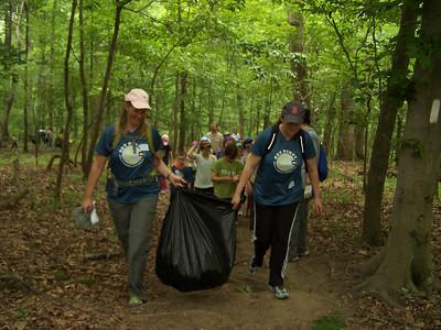 6.5.10 Invasive Plant-Trash Cleanup at McKeldin Area of Patapsco State Park