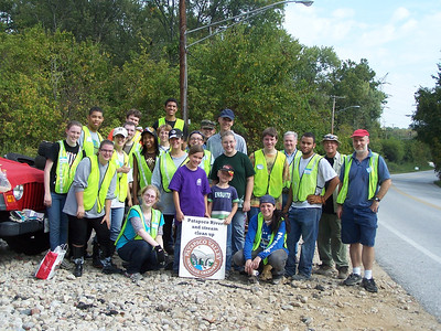 9.25.10 Cleanup Along Patapsco River off Hammonds Ferry Rd in Halethorpe