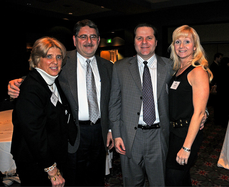 Phila Auto Show Tasting Party<br /> Suzanne and Donald Franks J.L freed & Sons, with Dominic and Karen Conicelli