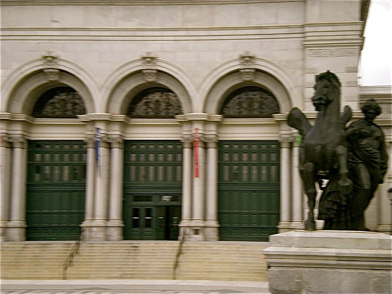 Buildings and monuments throughout Philadelphia, PA