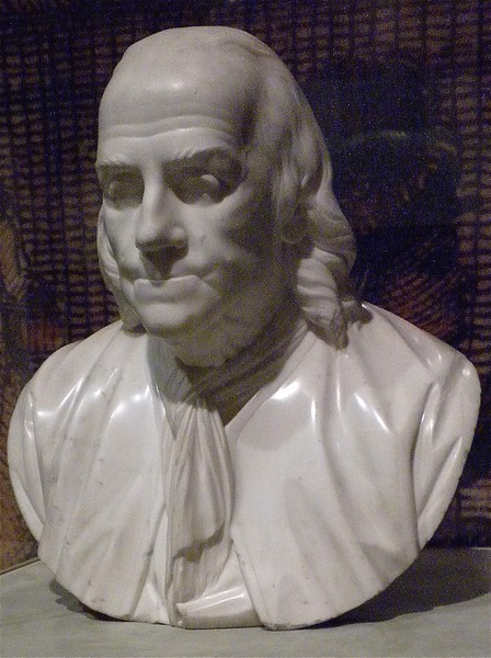 Benjamin Franklin: Second Bank of the United States Portrait Museum, Philadelphia, PA