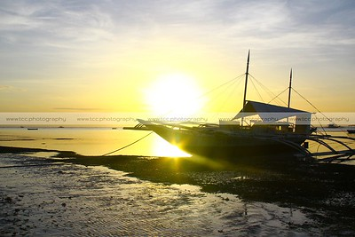 Sunrise at Bohol Beach Club, Panglao Island, Bohol, Philippines
