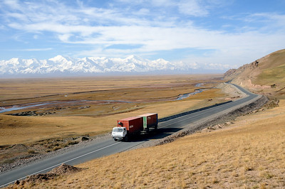 The Kamaz is the undisputed king of the Pamir road. Made in Russia and a rock solid, it has replaced the old camel caravans on the Silk Road