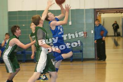 BBE Junior High basketball Jaguars