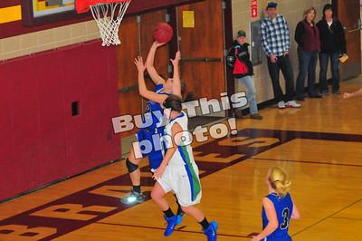 BBE girls' basketball vs. MACCRAY 12-6