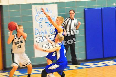 B-B-E vs. Holdingford boys' basketball 1-30-14