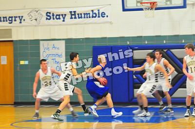 BBE vs. Rockford boys' basketball 1-14-14