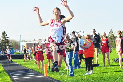 Sauk Centre track and field at subsections
