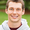 Jacob Gerhartz of the Saint Thomas Men's Cross Country Team poses for a photo on Friday, August 29, 2014.