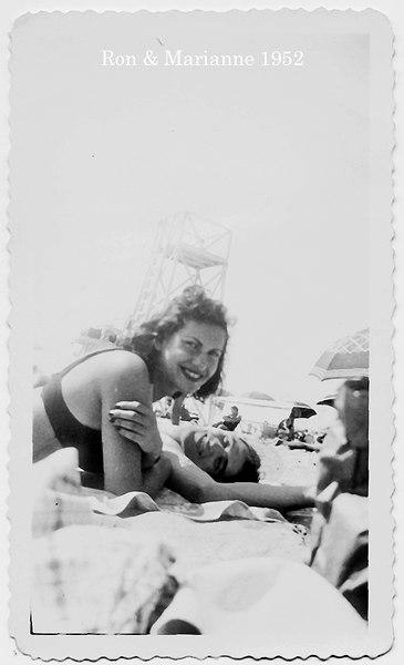 Marianne & Ron, Summer 1952 (unmarried)