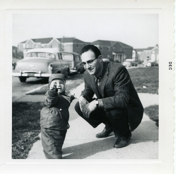 Ronald and Son, David 1957