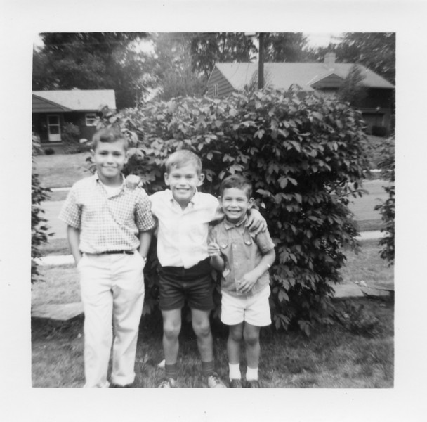 David, Richard, Jonathan, c. 1965