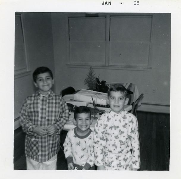 (l-r), David, Jonathan, Richard