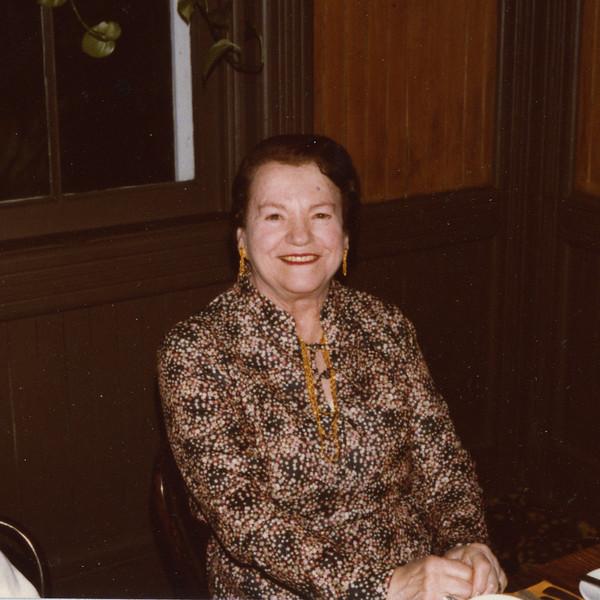 Selma Adler, 80th bithday, 1980