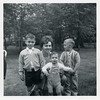 Marianne, with sons, David (6), Richard (3), and Jonathan (1) 1962.
