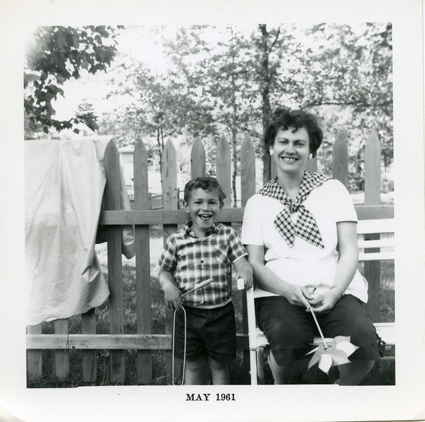 Marianne (pregnant with Jonathan) and David 1961
