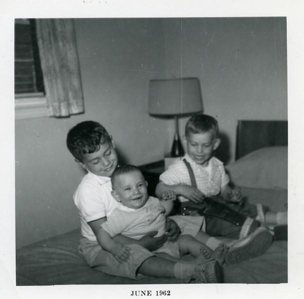 David, Richard, Jonathan 1962