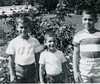 (l-r) Richard, Jonathan, David 1965