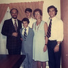 Bar Mitzvah day for Jonathan, Nov 1974