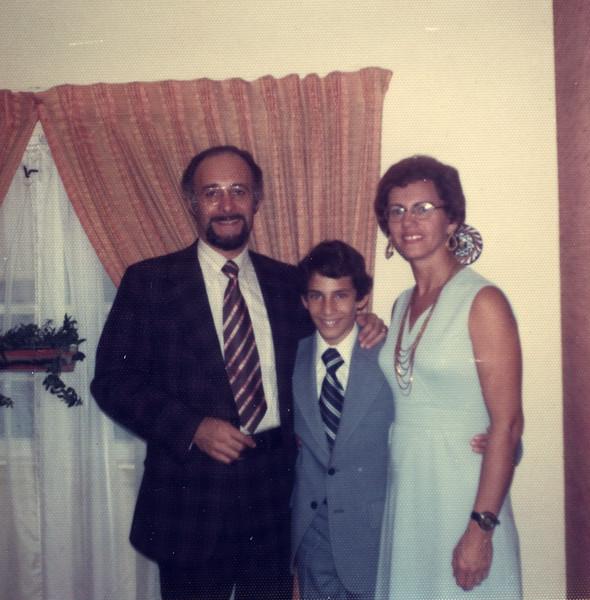 Jonathan, Bar Mitzvah 1974